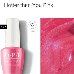 OPI GEL- Hotter than you pink